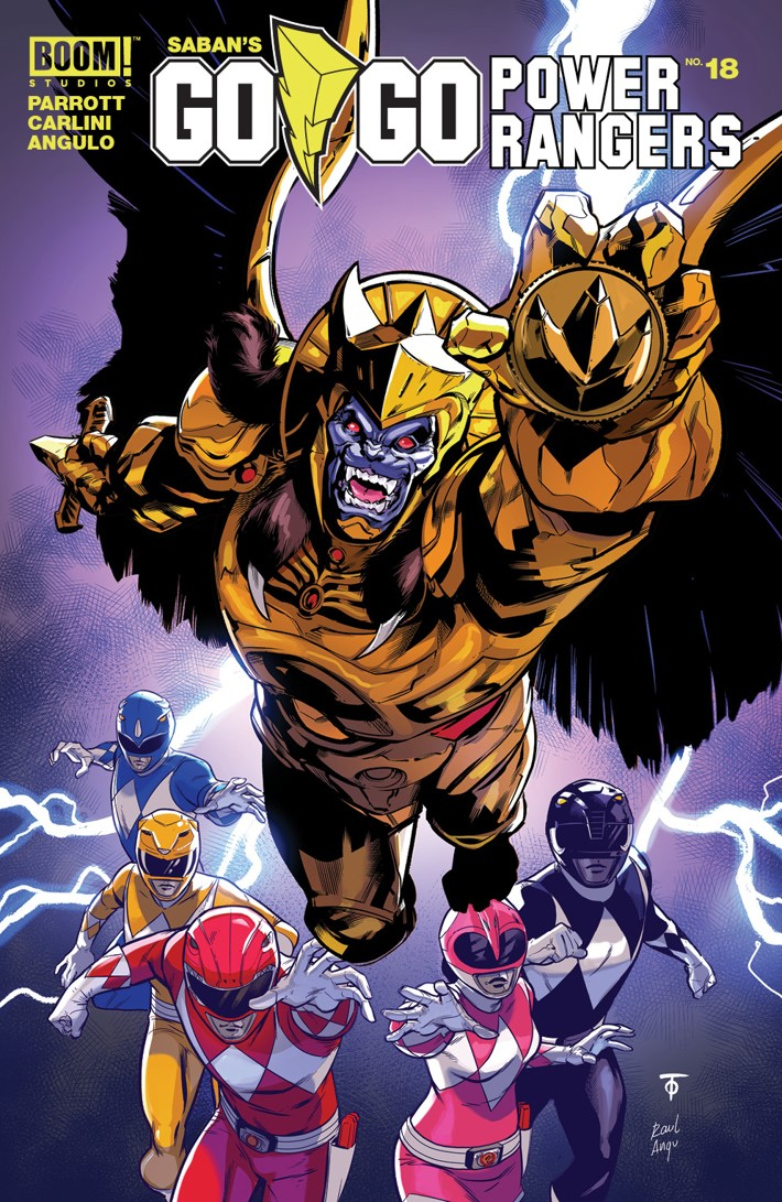 GoGoPowerRangers_018_A_Main ComicList Previews: SABAN'S GO GO POWER RANGERS #18