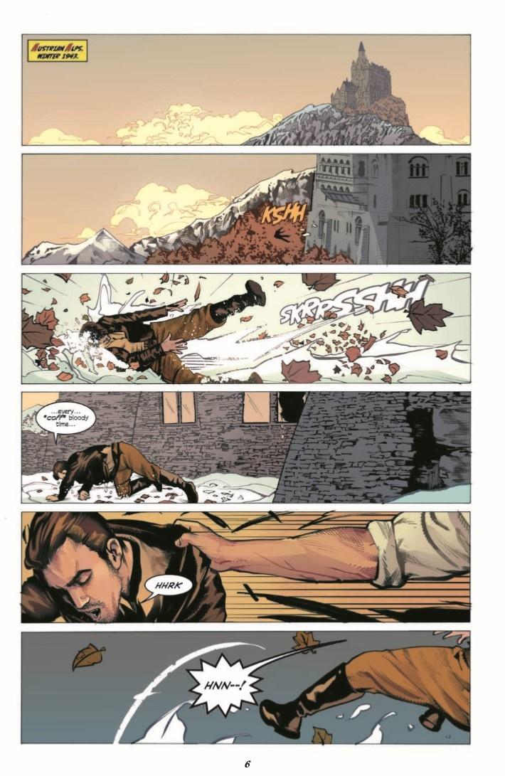 HalfPastDanger_v2_TPB-pr-3 ComicList Previews: HALF PAST DANGER DEAD TO REICHS HC