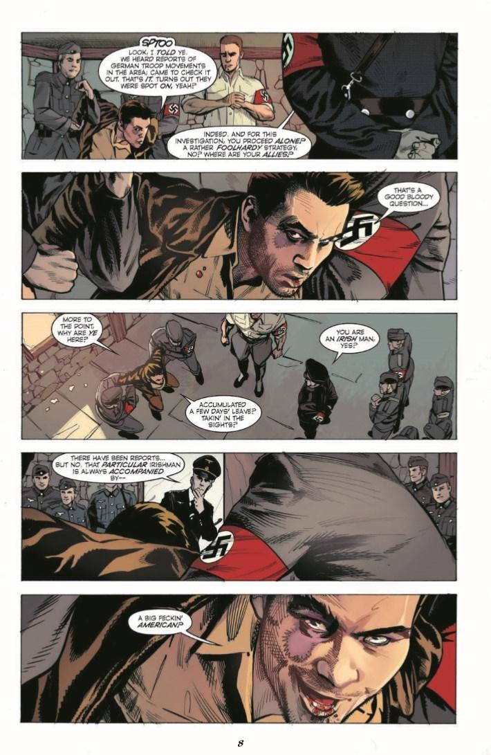 HalfPastDanger_v2_TPB-pr-5 ComicList Previews: HALF PAST DANGER DEAD TO REICHS HC