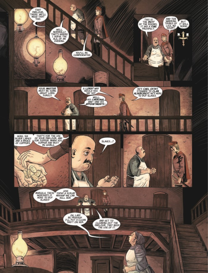 HighestHouse_01-pr-4 ComicList Previews: THE HIGHEST HOUSE #1