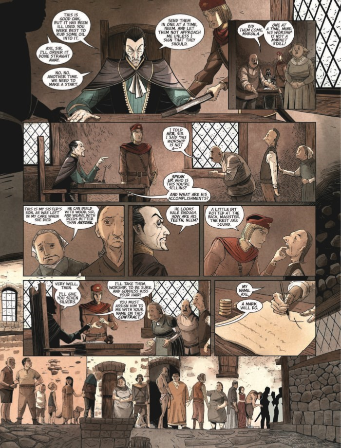 HighestHouse_01-pr-6 ComicList Previews: THE HIGHEST HOUSE #1
