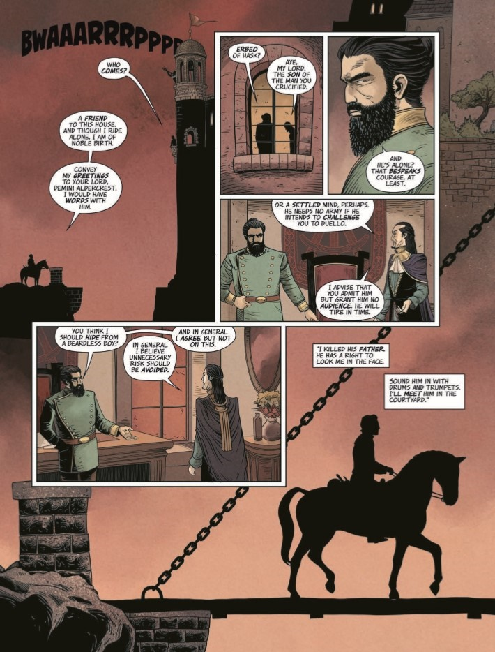 Highest_House_05-pr-5 ComicList Previews: THE HIGHEST HOUSE #5