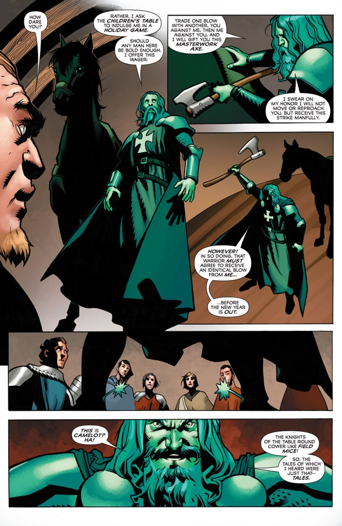 IMMORTAL_001_004 ComicList Preview: IMMORTAL BROTHERS THE TALE OF THE GREEN KNIGHT #1