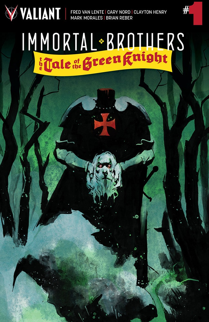 IMMORTAL_001_COVER-A_NORD ComicList Preview: IMMORTAL BROTHERS THE TALE OF THE GREEN KNIGHT #1