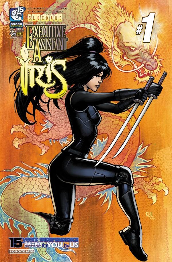 IRV5-01b-Cha ComicList Previews: EXECUTIVE ASSISTANT IRIS VOLUME 5 #1