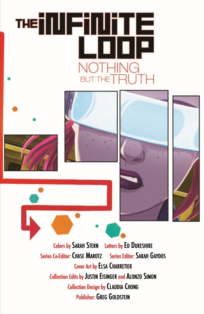 InfiniteLoop_v2_NothingButTheTruth-pr-3 ComicList Previews: THE INFINITE LOOP VOLUME 2 NOTHING BUT THE TRUTH TP