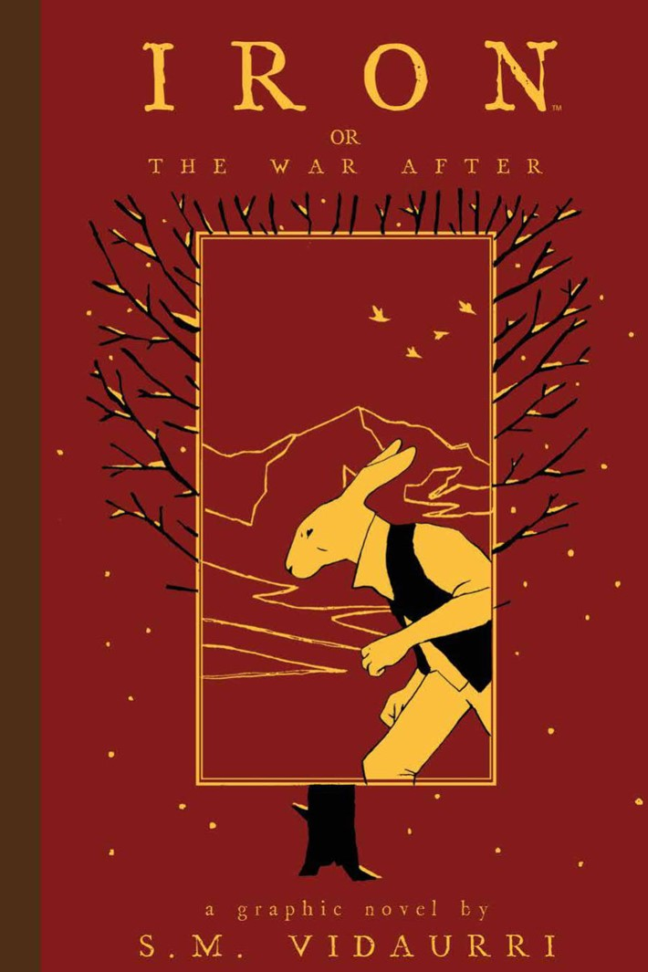 IronOrTheWarAfter_HC_PRESS_1 ComicList Previews: IRON OR THE WAR AFTER GN