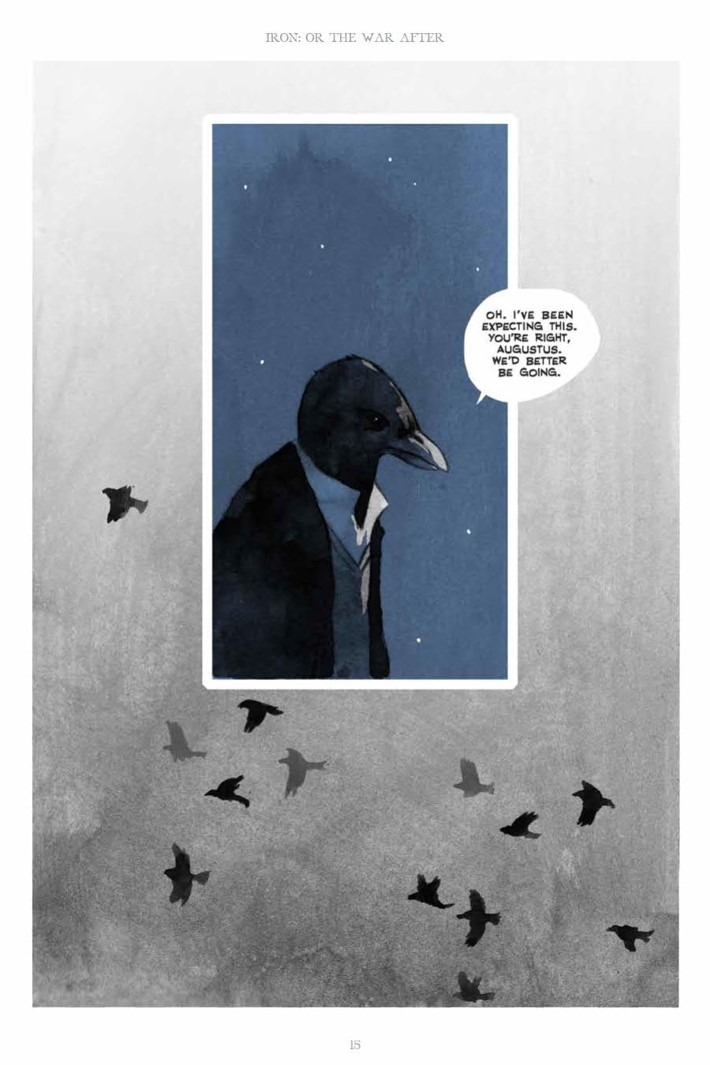 IronOrTheWarAfter_HC_PRESS_15 ComicList Previews: IRON OR THE WAR AFTER GN
