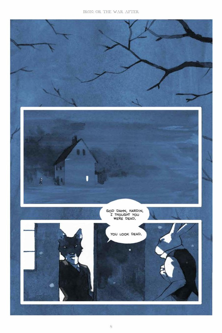IronOrTheWarAfter_HC_PRESS_8 ComicList Previews: IRON OR THE WAR AFTER GN