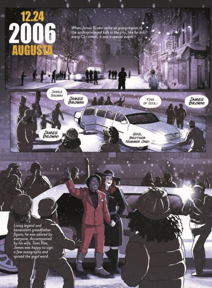 James_Brown_Black_and_Proud-pr-3 ComicList Previews: JAMES BROWN BLACK AND PROUD HC