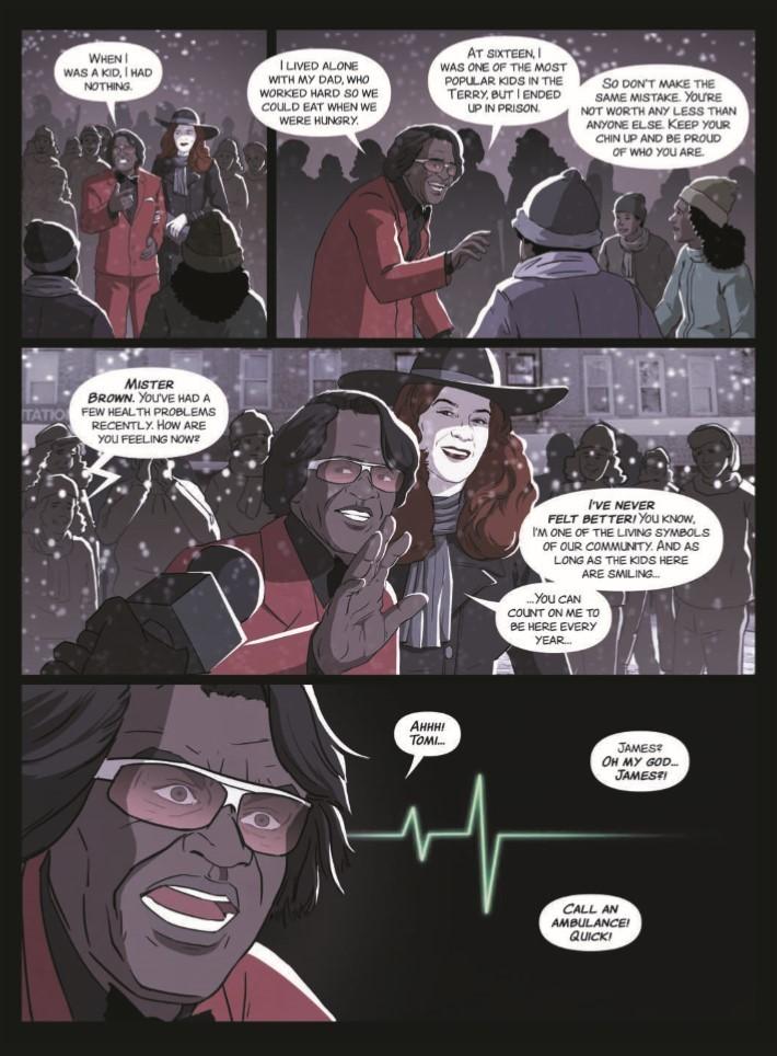 James_Brown_Black_and_Proud-pr-4 ComicList Previews: JAMES BROWN BLACK AND PROUD HC