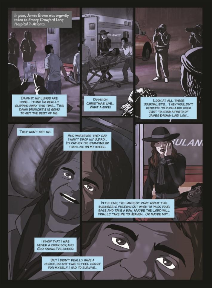 James_Brown_Black_and_Proud-pr-5 ComicList Previews: JAMES BROWN BLACK AND PROUD HC