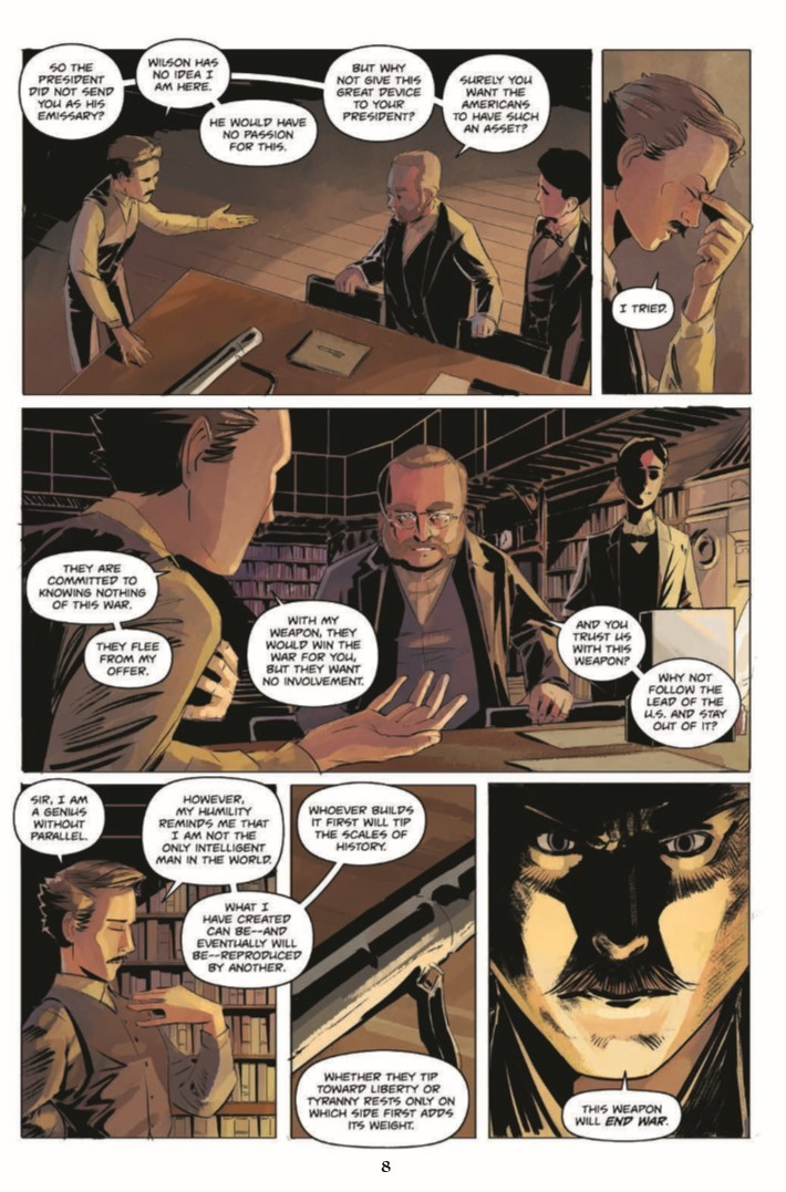 Jekyll_Island_Chronicles_vol2-pr-6 ComicList Previews: THE JEKYLL ISLAND CHRONICLES VOLUME 2 A DEVIL'S REACH GN