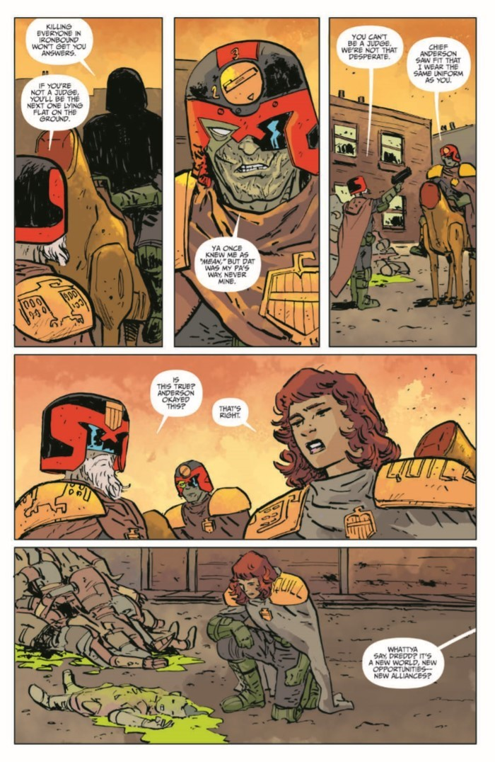 JudgeDredd_BlessedEarth_v2-pr-6 ComicList Previews: JUDGE DREDD THE BLESSED EARTH VOLUME 2 TP