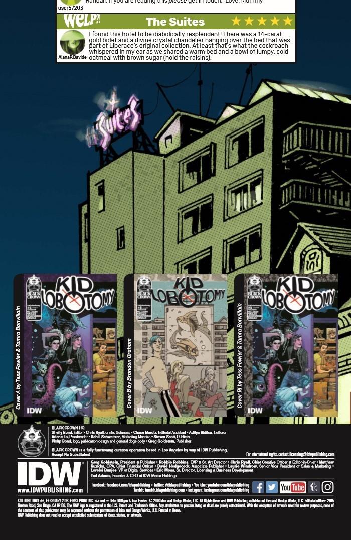 KidLobotomy_05-pr-2 ComicList Previews: KID LOBOTOMY #5