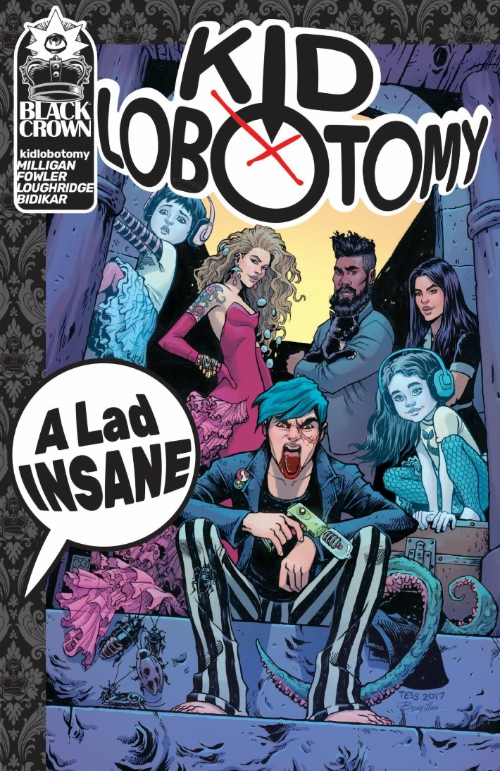 KidLobotomy_vol01-pr-1 ComicList Previews: KID LOBOTOMY VOLUME 1 TP