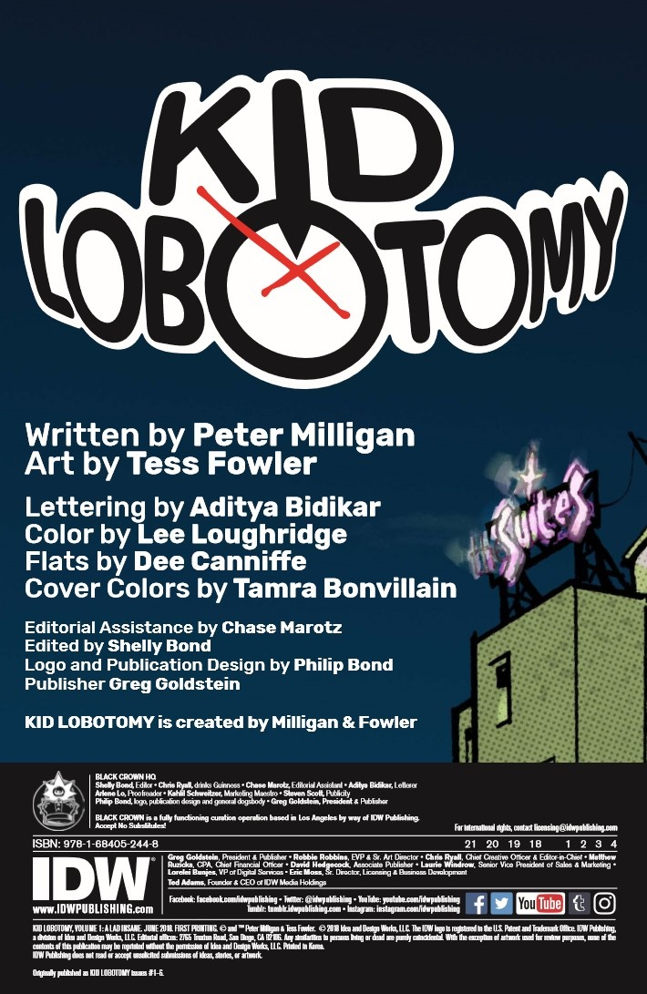 KidLobotomy_vol01-pr-2 ComicList Previews: KID LOBOTOMY VOLUME 1 TP