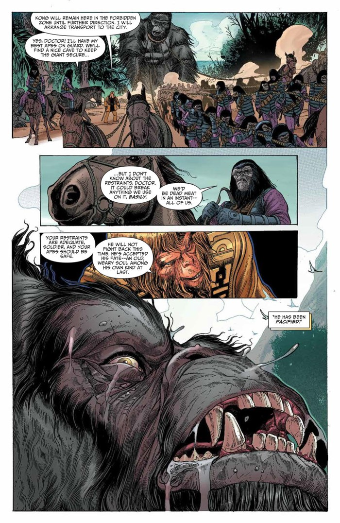 KongPOTA_004_PRESS_4 ComicList Previews: KONG ON THE PLANET OF THE APES #4