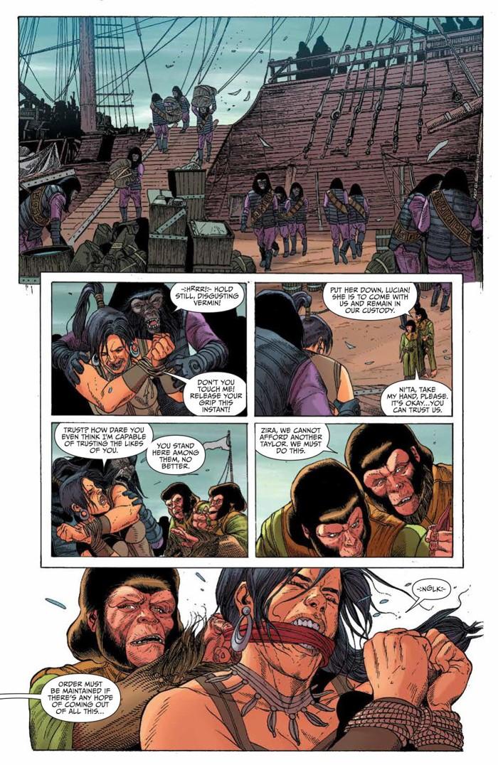KongPOTA_004_PRESS_5 ComicList Previews: KONG ON THE PLANET OF THE APES #4