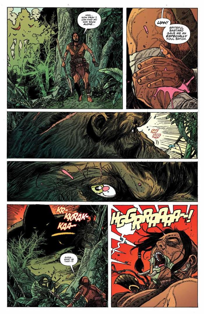 KongSkullIsland_v3_PRESS_13 ComicList Previews: KONG OF SKULL ISLAND VOLUME 3 TP