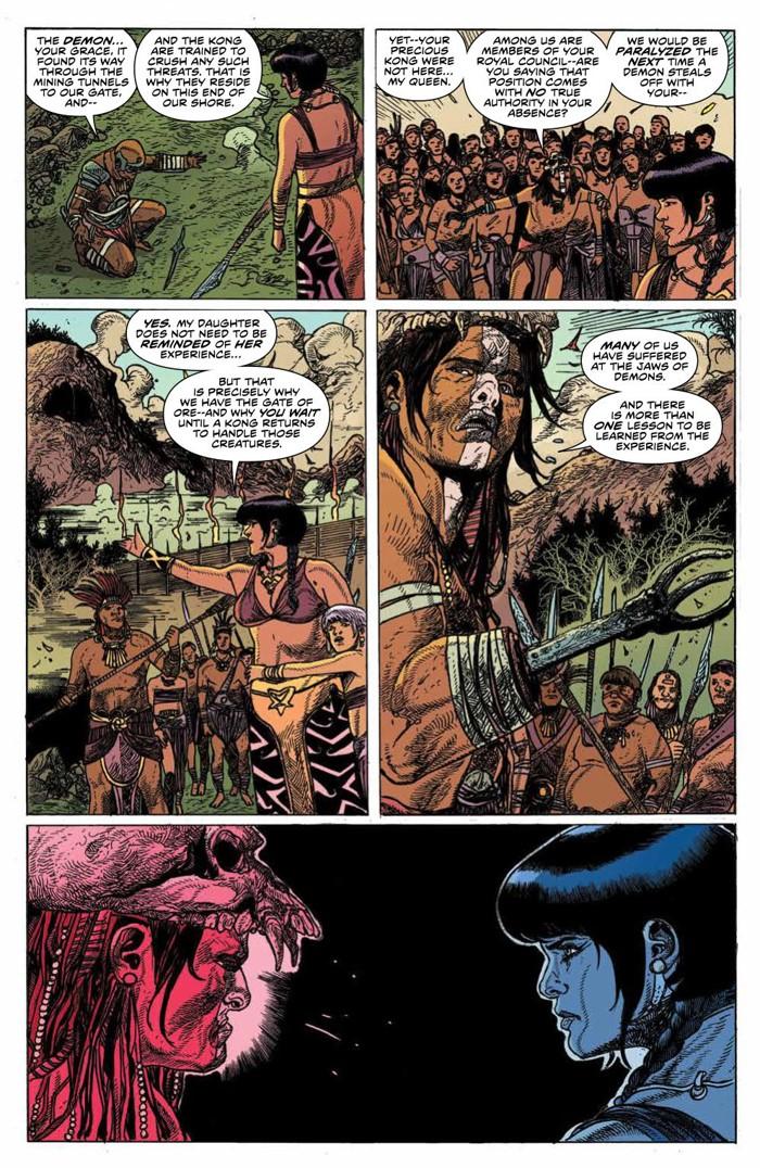 KongSkullIsland_v3_PRESS_8 ComicList Previews: KONG OF SKULL ISLAND VOLUME 3 TP