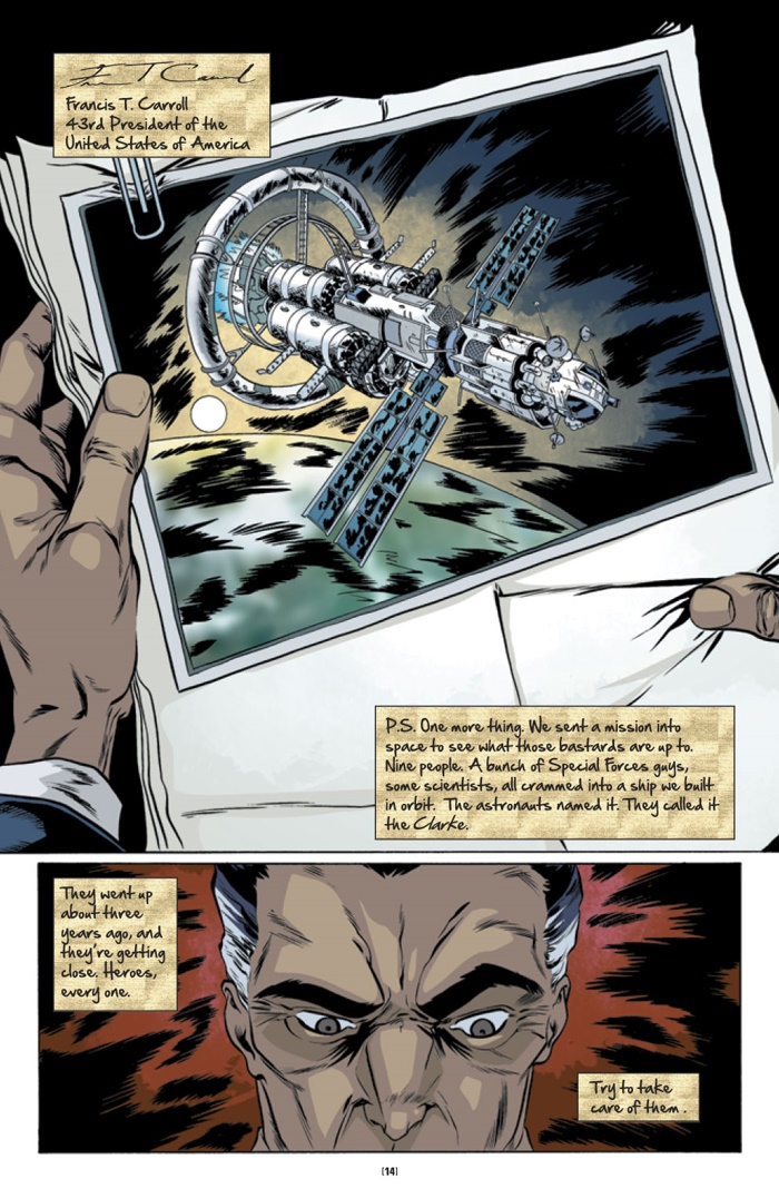 LETTER44-V1-$10-TPB-MARKETING_Preview-9 ComicList Preview: LETTER 44 VOLUME 1 ESCAPE VELOCITY TP (SQUARE ONE EDITION)
