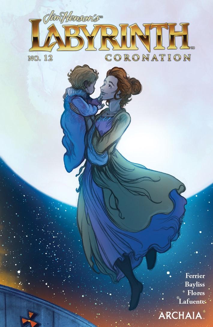 LabyrinthCoronation_012_Cover_B_Preorder ComicList Previews: JIM HENSON'S LABYRINTH CORONATION #12