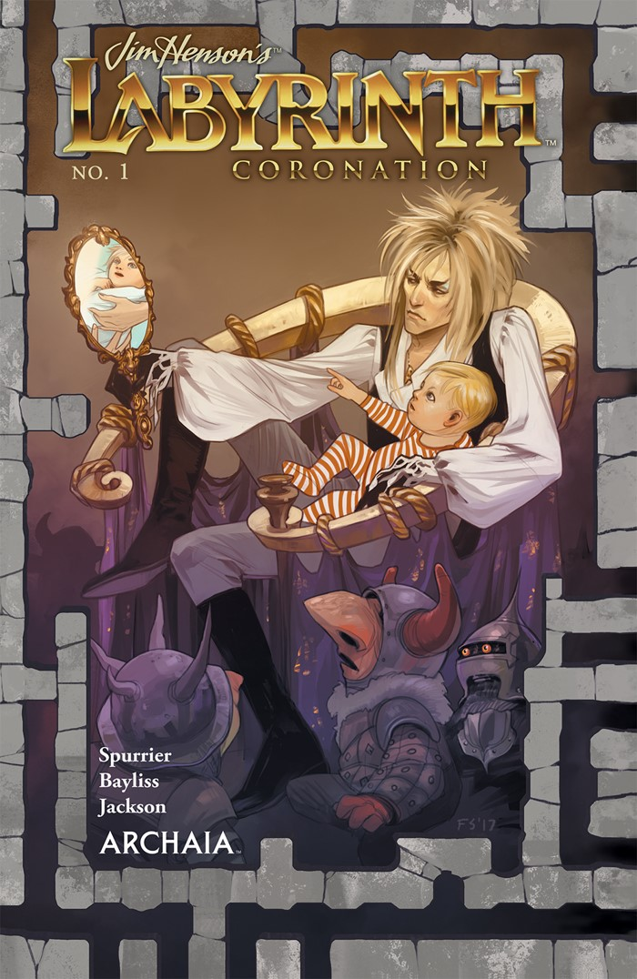 Labyrinth_Coronation_001_A_Main ComicList Previews: JIM HENSON'S LABYRINTH CORONATION #1