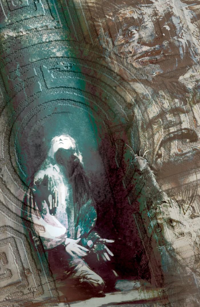 Labyrinth_Coronation_001_E_Variant_Sienkiewicz ComicList Previews: JIM HENSON'S LABYRINTH CORONATION #1