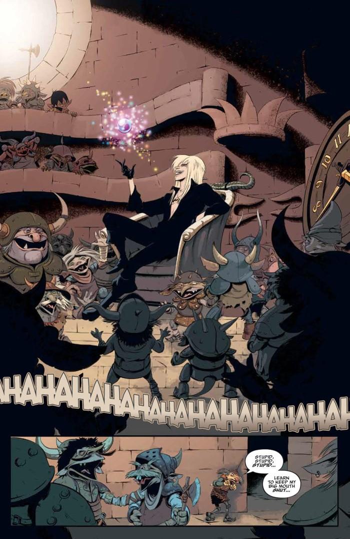 Labyrinth_Coronation_001_PRESS_4 ComicList Previews: JIM HENSON'S LABYRINTH CORONATION #1