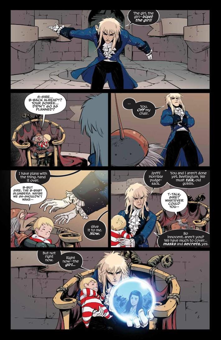 Labyrinth_Coronation_010_PRESS_2 ComicList Previews: JIM HENSON'S LABYRINTH CORONATION #10