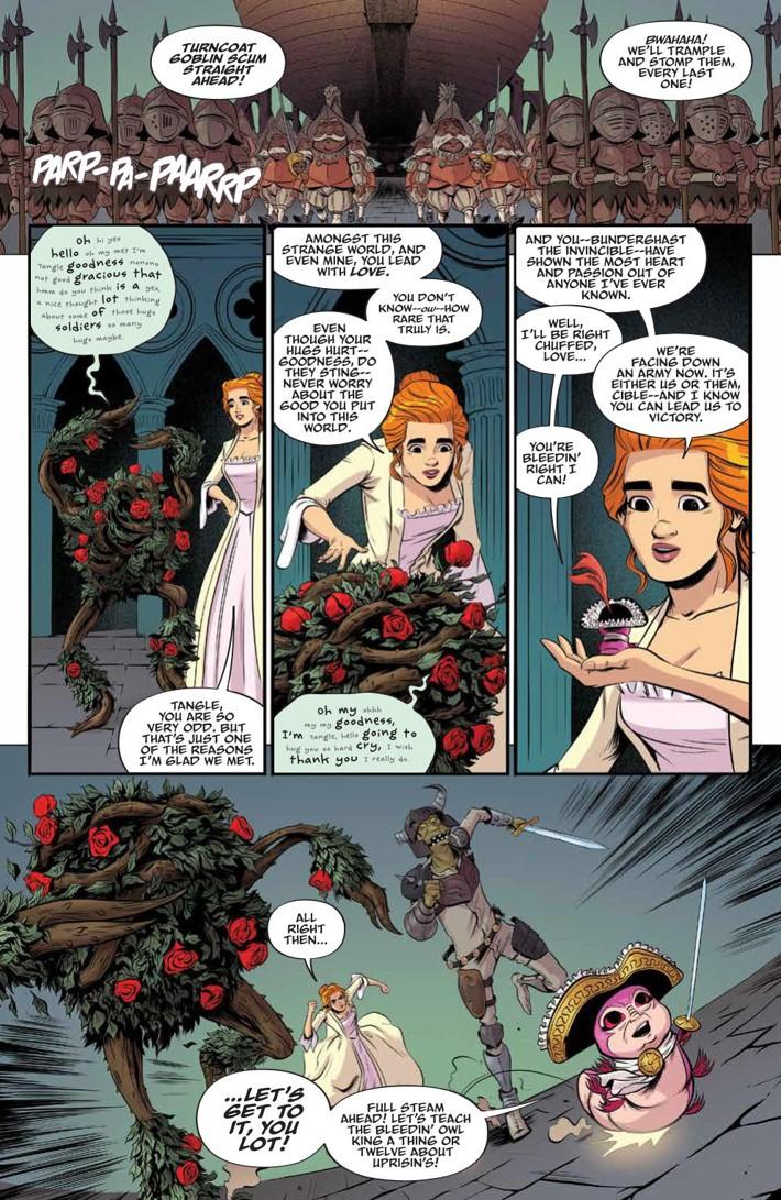 Labyrinth_Coronation_010_PRESS_6 ComicList Previews: JIM HENSON'S LABYRINTH CORONATION #10
