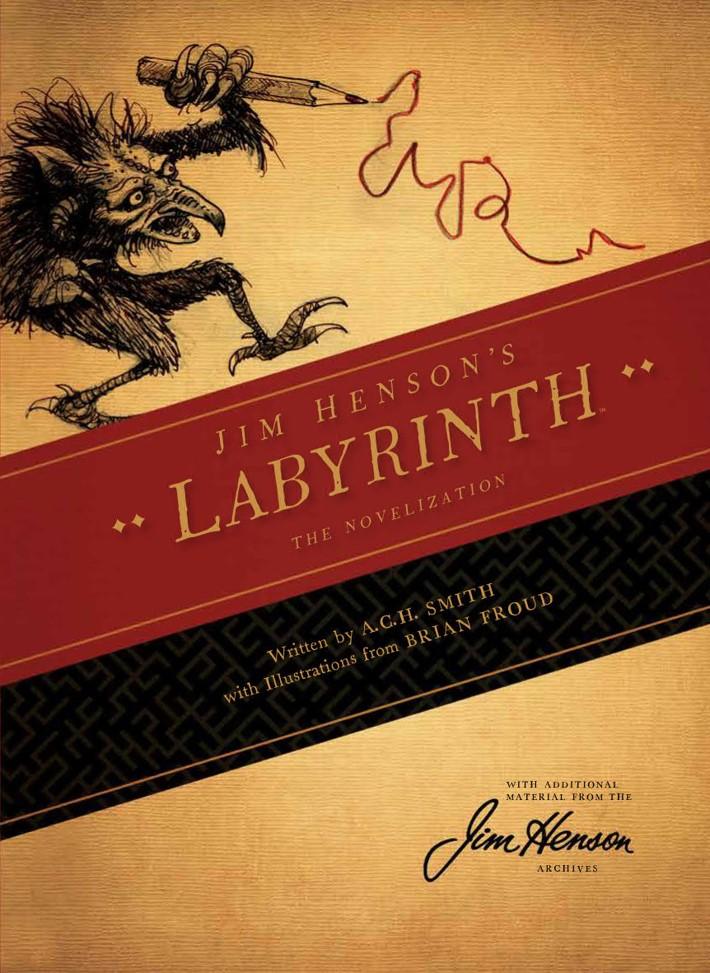 Labyrinth_Novelization_SC_PRESS_1 ComicList Previews: JIM HENSON'S LABYRINTH THE NOVELIZATION SC
