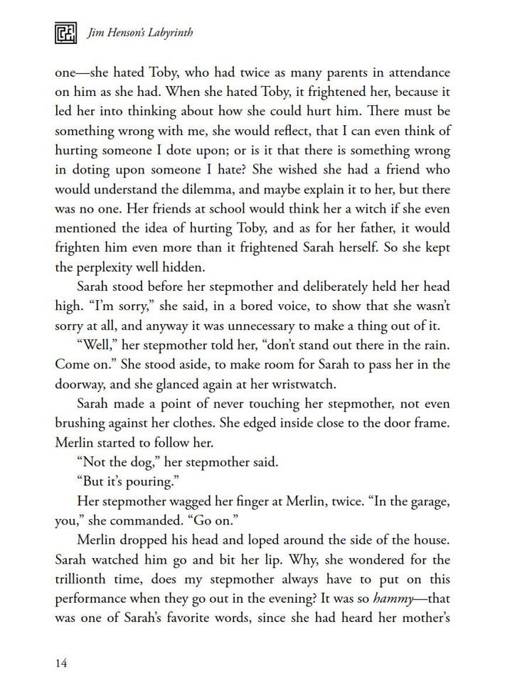 Labyrinth_Novelization_SC_PRESS_16 ComicList Previews: JIM HENSON'S LABYRINTH THE NOVELIZATION SC
