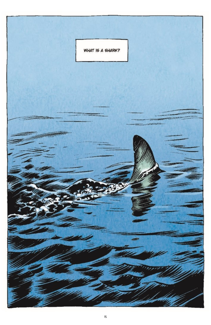 LittleBookOfKnowledge_Shark-pr-4 ComicList Previews: THE LITTLE BOOK OF KNOWLEDGE SHARKS HC