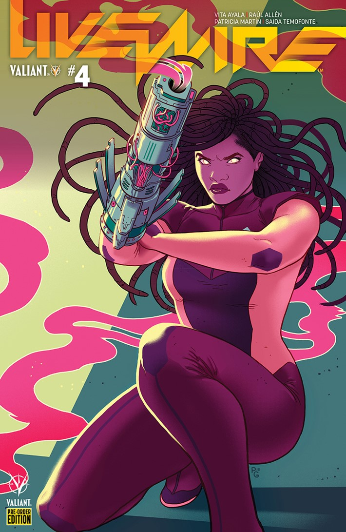 Livewire04D ComicList: Valiant Entertainment New Releases for 03/13/2019