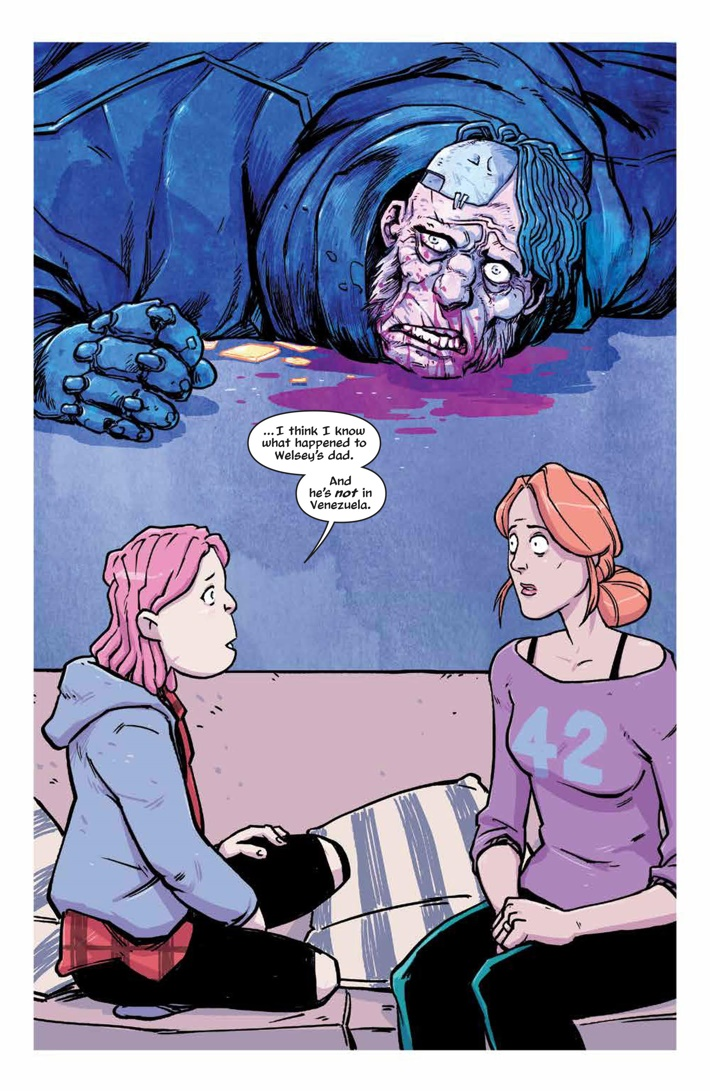 LucyDreaming_003_PRESS_7 ComicList Previews: LUCY DREAMING #3