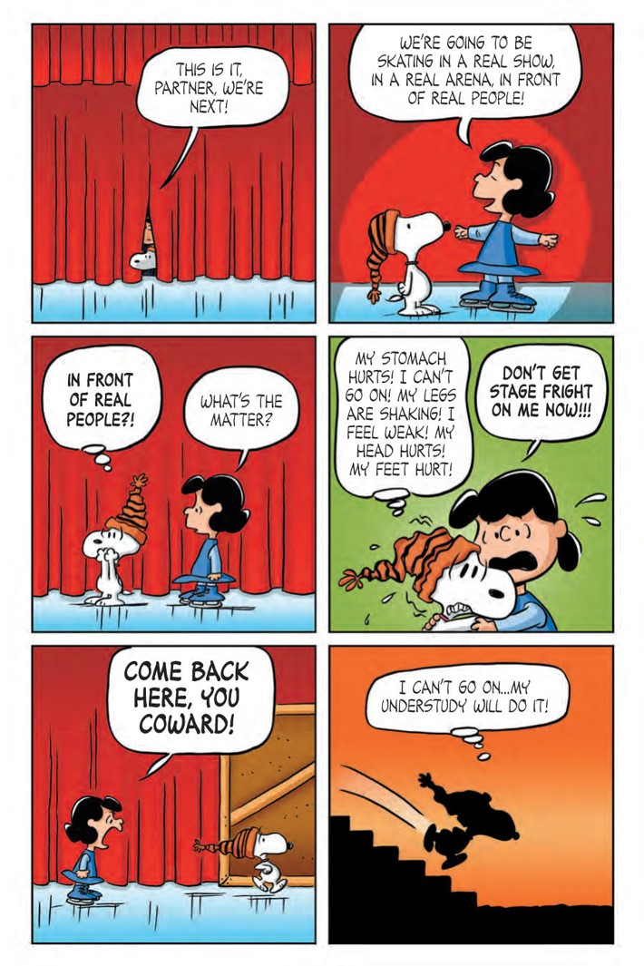 Lucy_HC_PRESS_13 ComicList Previews: LUCY A PEANUTS COLLECTION HC