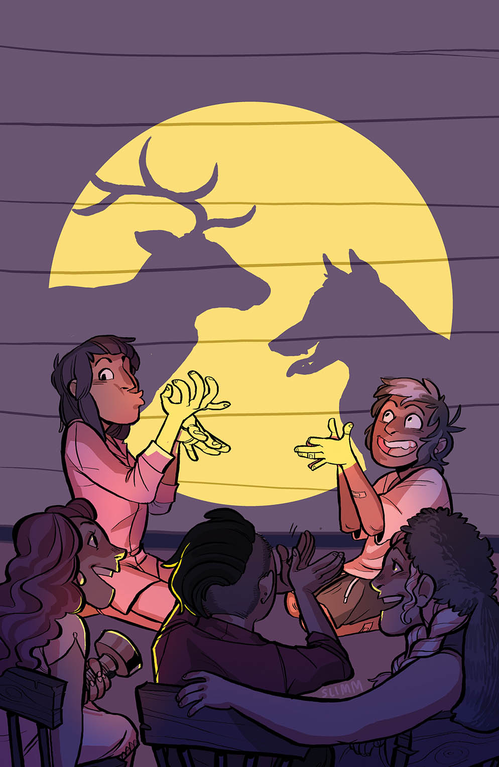 Lumberjanes_036_B_Variant ComicList Preview: LUMBERJANES #36