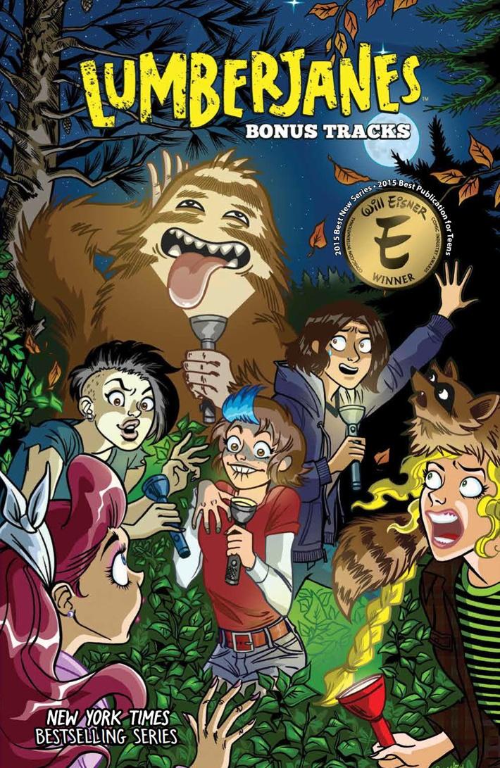 Lumberjanes_BonusTracks_SC_PRESS_1 ComicList Previews: LUMBERJANES BONUS TRACKS TP