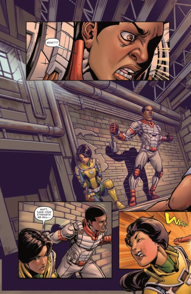 MASK_04-pr-4 ComicList Preview: M.A.S.K. MOBILE ARMORED STRIKE KOMMAND #4