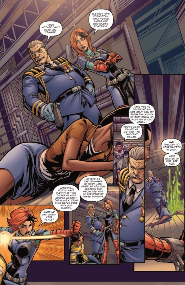 MASK_04-pr-5 ComicList Preview: M.A.S.K. MOBILE ARMORED STRIKE KOMMAND #4