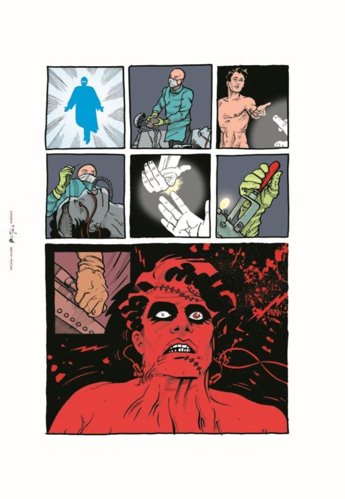Madman_IDWL-pr-5 ComicList Previews: MIKE ALLRED'S MADMAN ARTIST SELECT HC
