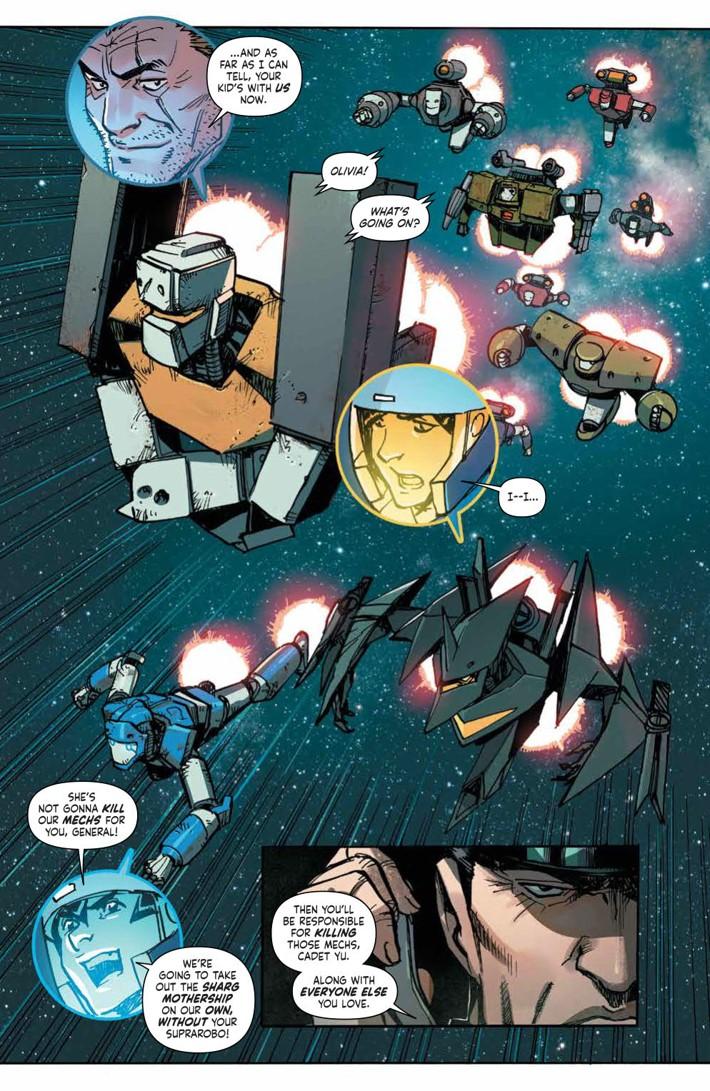 MechCadetYu_v3_SC_PRESS_10 ComicList Previews: MECH CADET YU VOLUME 3 TP