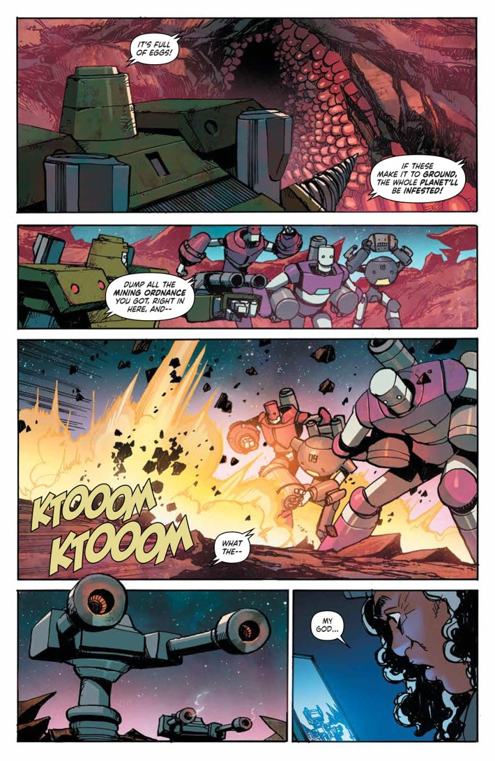 MechCadetYu_v3_SC_PRESS_18 ComicList Previews: MECH CADET YU VOLUME 3 TP