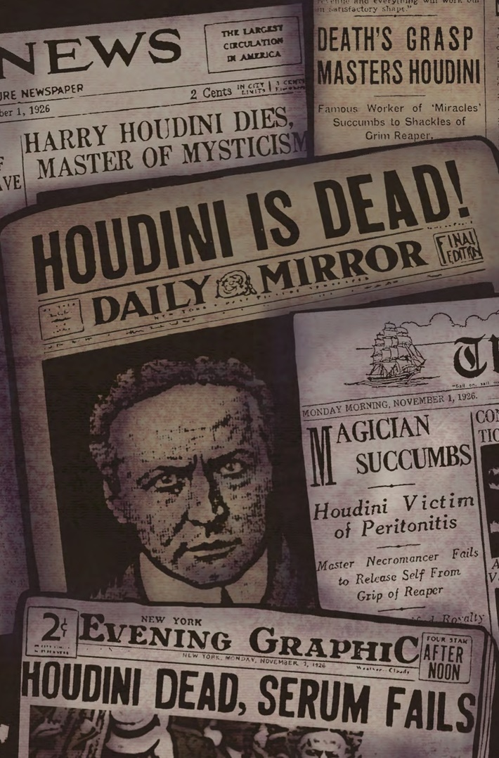 Minky_Woodcock_4_Pg1 ComicList Previews: MINKY WOODCOCK THE GIRL WHO HANDCUFFED HOUDINI #4