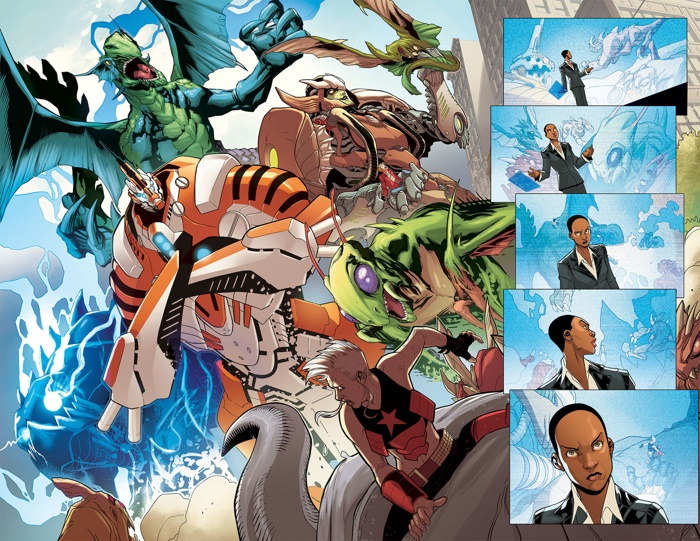 Monsters_Unleashed_1_Preview_2 ComicList Preview: MONSTERS UNLEASHED #1