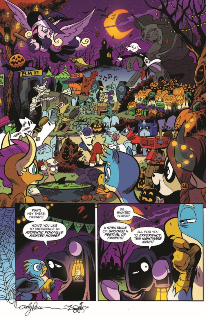MyLittlePony_71-pr-5 ComicList Previews: MY LITTLE PONY FRIENDSHIP IS MAGIC #71