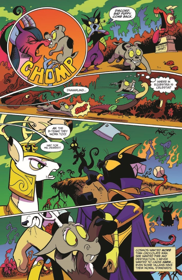 MyLittlePony_76-pr-5 ComicList Previews: MY LITTLE PONY FRIENDSHIP IS MAGIC #76