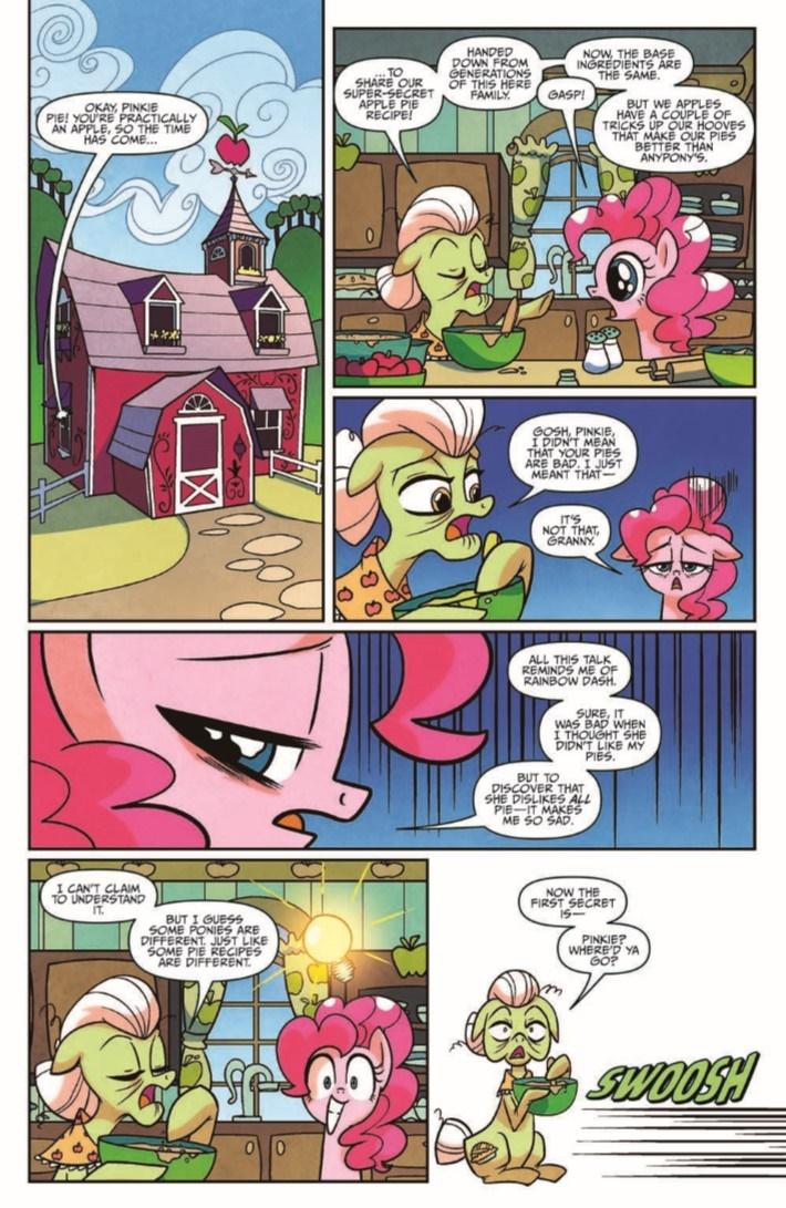 MyLittlePony_FiM_vol14-pr-4 ComicList Previews: MY LITTLE PONY FRIENDSHIP IS MAGIC VOLUME 14 TP